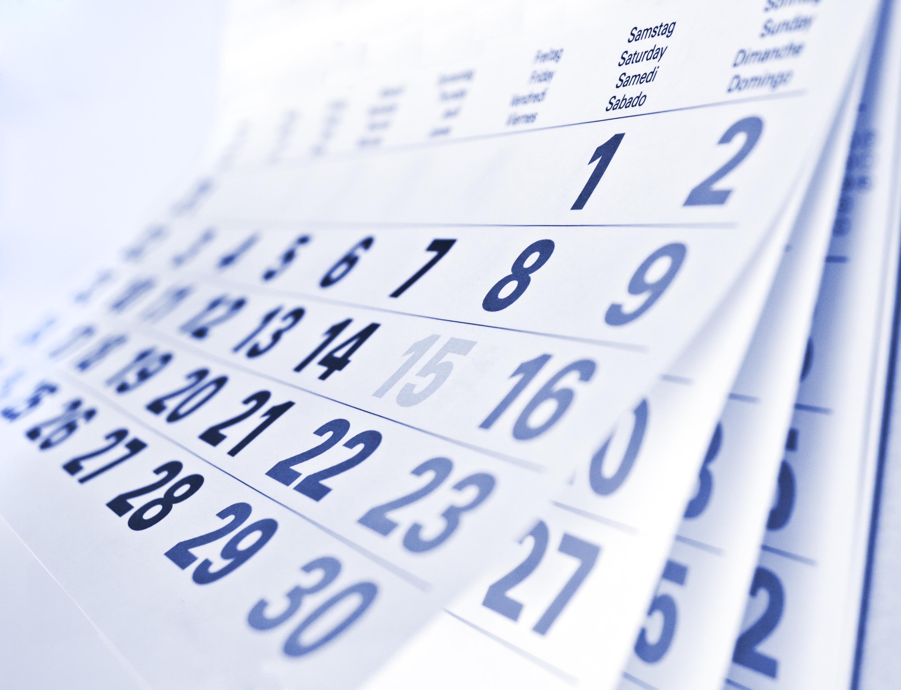 Calendario cursos náuticos